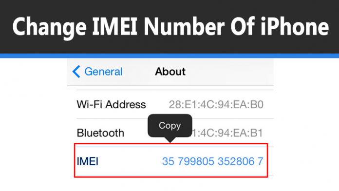 change imei number iphone 2017