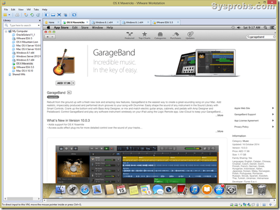 How to use Garageband on windows Pc