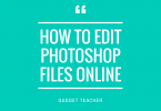 How to edit photoshop files online