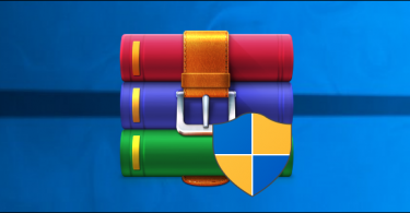 winrar compress data